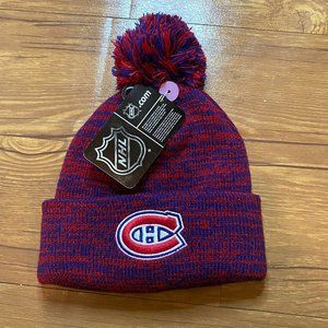 Montreal Canadiens NHL Winter Pom Knit Hat Toque